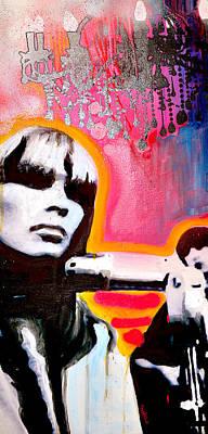 Underground Painting - Nico by Erica Falke