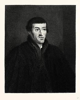 Nicolao Copernico Art Print by English School