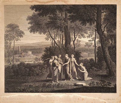Nicolas Poussin French, 1594 - 1665. Untitled Moses Art Print by Litz Collection