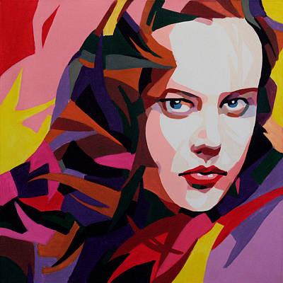 Painting - Nicole Kidman by Jana Fox