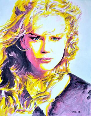 Nicole Kidman Art Print