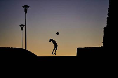 Soccer Games Photograph - Nicole by Lu?s Godinho
