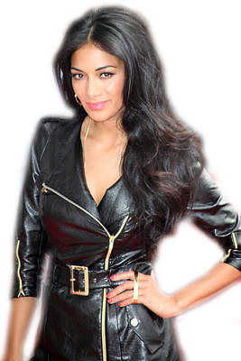 Photograph - Nicole Scherzinger 10 by Jez C Self