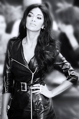 Photograph - Nicole Scherzinger 11 by Jez C Self