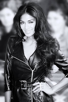 Nicole Scherzinger 20 Art Print by Jez C Self