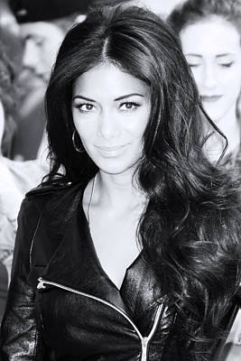 Photograph - Nicole Scherzinger 5 by Jez C Self