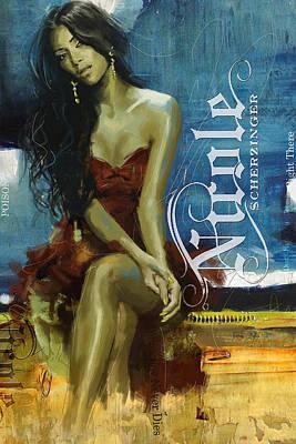 Music Paintings - Nicole Scherzinger by Corporate Art Task Force