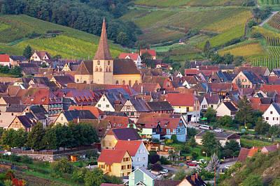 Niedermorschwihr, Alsace, France Art Print