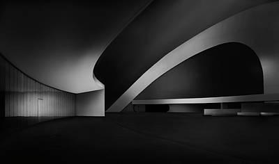 Asturias Photograph - Niemeyer by Fran Osuna
