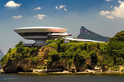Photograph - Niemeyer Museum Of Contemporary Arts by Celso Diniz
