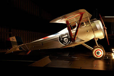 Nieuport 24 Biplane, Omaka Aviation Art Print by David Wall
