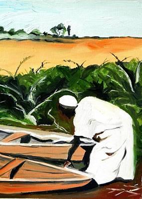 Niger River Original by Liz Young
