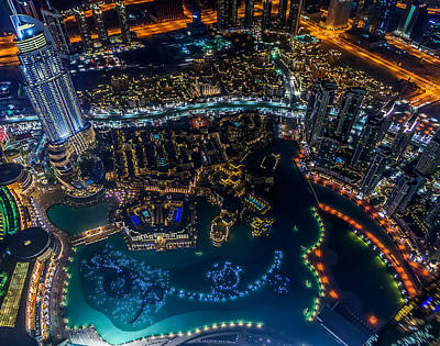 Rabbit Marcus The Great - Night Aerial View by Lik Batonboot