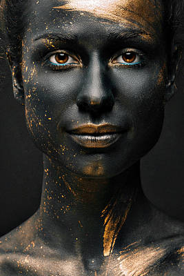 Face Wall Art - Photograph - Night by Alexandr Sutula