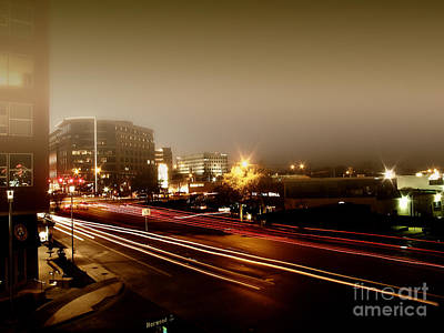 Photograph - Night At 7th by Eddie Lee