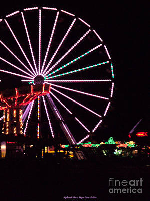 Photograph - Night At The Fair by Megan Dirsa-DuBois