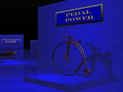 Digital Art - Night At The Museum by John Pangia