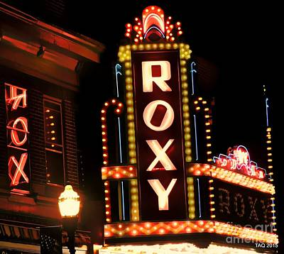 Photograph - Night At The Roxy by Tami Quigley