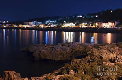Mare Photograph - Night At The Sea Of Salento by Rossana Coviello