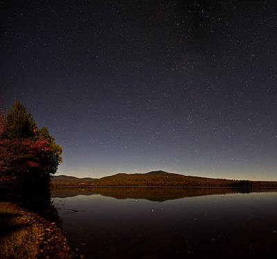 Photograph - Night Autumn Colors by Brent L Ander
