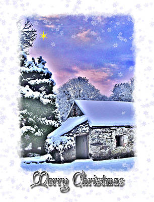 Christmas Card 27 Art Print