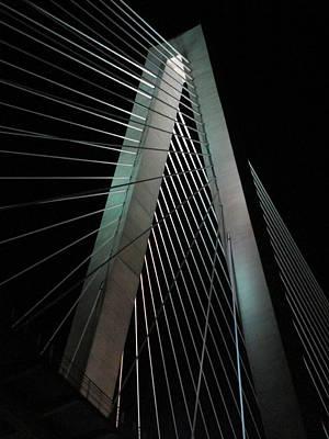 Night Bridge 2 Art Print