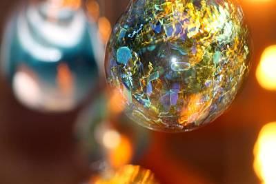 Christmas Photograph - Night Bulbs 2 by Matthew Modena