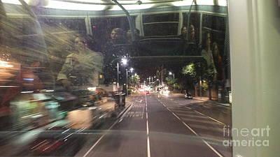 Night Bus Original by Artist Geoff Francis