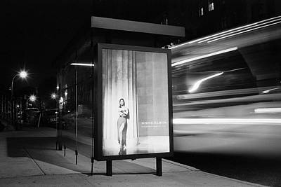 Photograph - Night Bus by Dave Beckerman