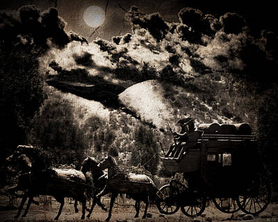 Photograph - Night Coach by Dale Simmons