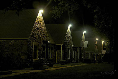 Photograph - Night Court by Cheri Randolph