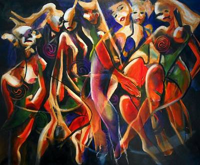 Painting - Night Dance by Georg Douglas