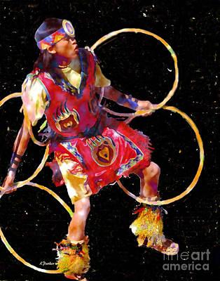 Night Dancer Art Print by Linda  Parker