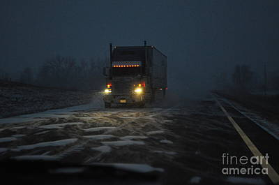 Photograph - Night Driver by Anjanette Douglas
