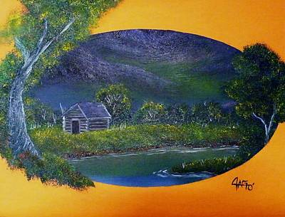 Painting - Night Enchanted by The GYPSY