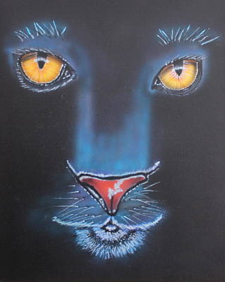 Painting - Night Eyes by Bob Williams