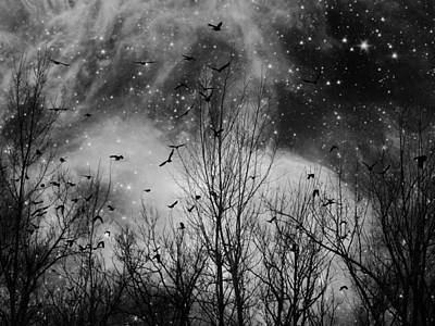 Burst Of The Night Flight Art Print by Gothicrow Images