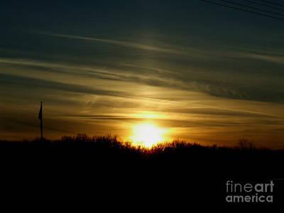 Photograph - Night Flow by Scott B Bennett