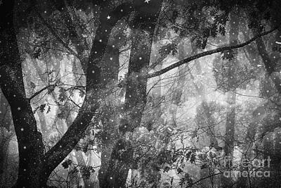 Spooky Digital Art - Night by HD Connelly