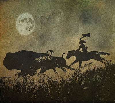 Art Print featuring the photograph Night Hunter by Roy  McPeak
