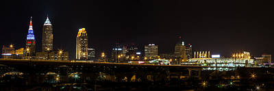 Photograph - Night In Cleveland by Dale Kincaid