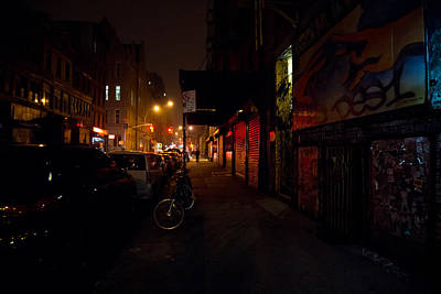 Lower East Side Photograph - Night In New York City by Vivienne Gucwa