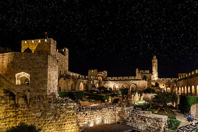 Middle East Photograph - Night In The Old City by Alexey Stiop