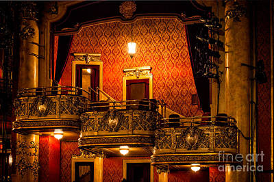 Photograph - Night In The Theater by Les Palenik