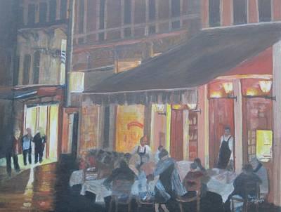 Night In Venice Art Print