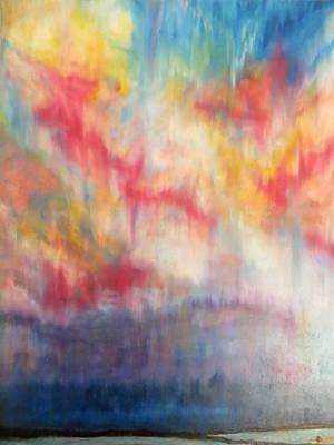 Pastel - Night Is Near by Daniel Dubinsky