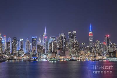 Gotham Photograph - Night Jewels by Evelina Kremsdorf