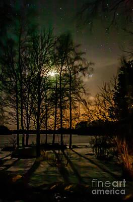Photograph - Night  by Jorgen Norgaard