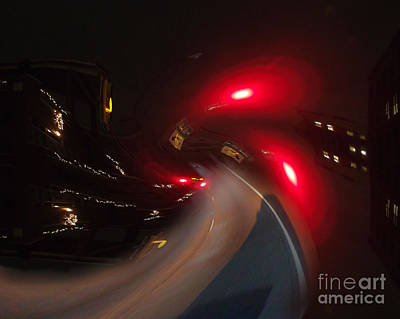 Photograph - Night Journey by Eddie Lee