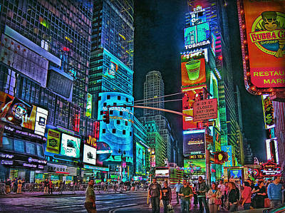 Photograph - Night Life by Hanny Heim